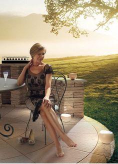 Genevieve Van Der Meer (over 70) model at Masters modeling agency in Paris, France