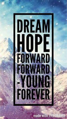 BTS || YOUNG FOREVER || LYRICS || WALLPAPER