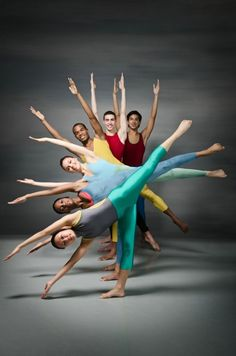 Side low, middle and high! Alvin Ailey Professional Division. Photo by c Kyle Froman Photography