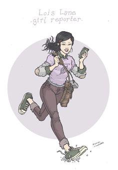 Lois Lane Girl Reporter