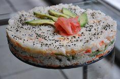 Sushi Cake Recipes: Layer Cakes, Bundts and Napoleons (PHOTOS)