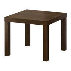 LACK walnut effect side table from IKEA