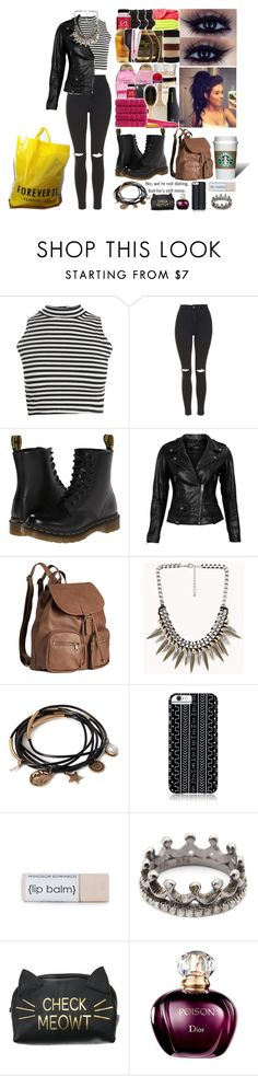 """""""birthday rejection"""" by shinykarla on Polyvore featuring Boohoo, Topshop, Dr. Martens, VIPARO, H&M, Forever 21, Savannah Hayes, Loree Rodkin, Bage and tpmsets Savannah Hayes, Savannah Chat, Boohoo, Forever 21, Topshop, Birthday, Polyvore, Fashion, Birthdays"""