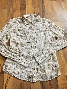 Womens Size Medium Maurices Pink Paisley Pearl Snap Button Up Country Top Shirt #Maurices #ButtonDownShirt #EveningOccasion