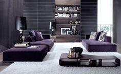 designer deko für wohnung | wohnzimmer ausstattung trendig bequem trendfarben…