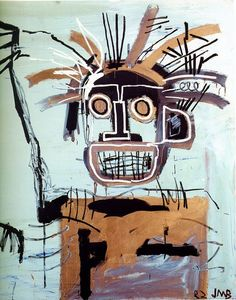 f2049f04 Jean-Michel Basquiat, 1982. could have been a possible inspiration for  Jamie Hewlett