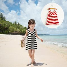 Classic Stripe Dress – Poppatosh