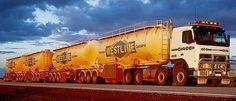 Australia - BAB Quad roadtrain Train Truck, Road Train, Didgeridoo, Big Rig Trucks, Semi Trucks, Australian V8 Supercars, Mercedes Truck, Volvo Trucks, Heavy Truck