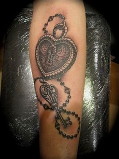 lock and key tattoo - Google Search