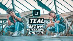 teal & brown lightroom presets Download FREE Lightroom preset