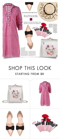 """""""Classique"""" by violet-peach ❤ liked on Polyvore featuring August Hat and Whiteley"""