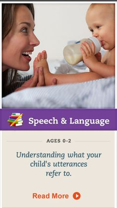 Take time to learn what objects your baby's utterances are really in reference to. Click for more. #SpeechandLanguage