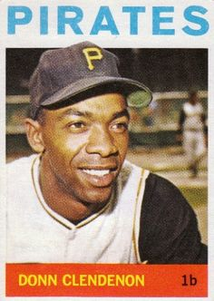 Donn Clendenon Hockey Cards, Football Cards, Baseball Cards, Pittsburgh Pirates Baseball, Trading Card Database, Back In The Day, Trading Cards, Sports, Yahoo Search