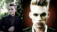 Editing of both pics done by me... Honestly, in my opinion, I think these two pics of Will Jardell(especially the photo on the right) reminds me of a character off the Twilight Saga :) I think he'd be perfect for a roll off that show if he were to ever do any sort of acting in the future... :)