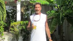 McAfee's life has turned in recent years from cybersecurity to drugs, guns, prostitution and violence