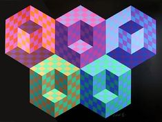 View Hexa from Official Arts Portfolio of the XXIVth Olympiad, Seoul, Korea by Victor Vasarely on artnet. Browse upcoming and past auction lots by Victor Vasarely.