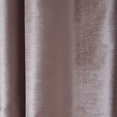 Luster Velvet Curtain - Dusty Blush
