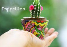 Escolha uma lembrancinha que dure e que transmita vida e amor! Mini cachepôs da Poppellina, podem ser acompanhados de mini cactos ou suculentas! contato@poppellina.com.br