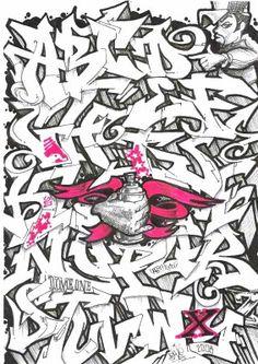 3D Graffiti Letters A-Z | Graffiti Alphabet Letter Font - Graffiti - Zimbio