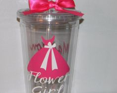Ring Bearer Gift Tumbler Personalized by dreamingdandelions