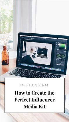 How to Create the Perfect Influencer Media Kit Marketing Digital, Online Marketing, Social Media Marketing, Marketing Strategies, Influencer Marketing, Media Kit, Instagram Influencer, Instagram Tips, Pinterest Marketing