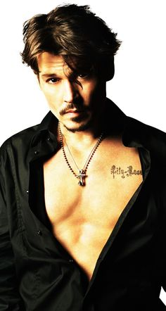 Johnny Depp-Rolling Stone...I have loved this man FOREVER!