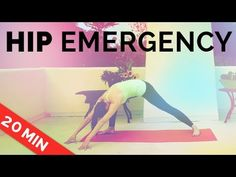 Yoga for Hip Pain: Yoga Sequence of Hip Stretches with Brett Larkin… Seven Minute Workout, Hip Opening Yoga, Hip Stretches, Stretching, Exercises, Restorative Yoga Poses, Barre Workout, Hip Pain, Yoga Tips