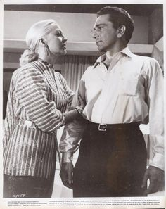 "Richard Conte/Marilyn Maxwell ""New York Confidential"" 1955 Vintage Movie Still 