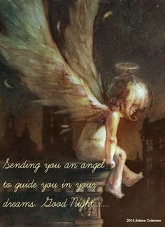 #Sending you an #angel to #guide you in your #dreams <3  #Goodnight