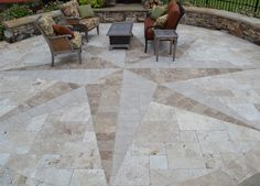 Price Residence - eclectic - compass patio - charlotte - TG Landscape Group
