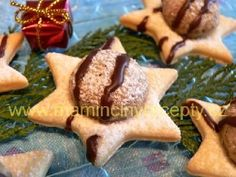 Vánoční hvězdičky Christmas Sweets, Christmas Kitchen, Christmas Candy, Christmas Baking, Mexican Food Recipes, Cookie Recipes, Snack Recipes, Snacks, Fancy Cookies