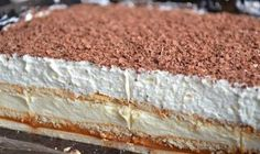 Starý recept od našich babičiek! Sladučké maslové kolieska! - Báječná vareška Polish Desserts, Polish Recipes, No Bake Desserts, Baking Recipes, Cake Recipes, Dessert Recipes, Pie Dessert, Dessert For Dinner, Sweets Cake