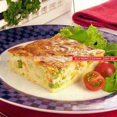 Receita de Torta de salpicão