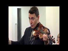 Vengerov: Controlling Vibrato In Mendelssohn Violin Concerto - YouTube