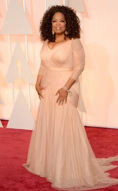 2015 Oscars : Red Carpet Arrivals Oprah Winfrey in Vera Wang #2015Oscars #redcarpet #oprahwinfrey