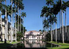Palácio neoclássico do Itamarati, Rio de Janeiro