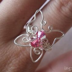 Butterfly Ring | JewelryLessons.com