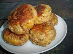 Tuna Cakes:  2 cans (5 oz. each) tuna drained/, 1 pkg. STOVE TOP Stuffing Mix for Chicken, 1 cup Shredded Mild Cheddar Cheese, 3/4 cup water, 1 carrot shredded,  1/3 cup Mayo, 2 Tbsp. Sweet Pickle Relish, MIX all ingredients. Refrigerate 10 min. HEAT nonstick skillet sprayed with cooking spray on medium heat. Form into patties & FLATTEN. Cook until golden brown (3 min each side).