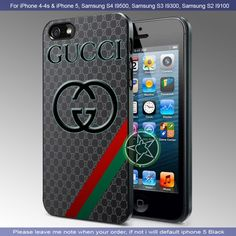 Amazing Gucci Logo iPhone 4/4S/5, Samsung S4/S3/S2 case cover   sedoyoseneng - Accessories on ArtFire