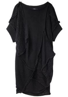 Limi Feu / Oversize Patchwork Knit