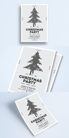 White Christmas Event Flyer by Guuver on Envato Elements Christmas Flyer Template, Christmas Party Food, White Christmas, Adobe Photoshop, Adobe Illustrator, Cards Against Humanity, Snow, Templates, Stencils
