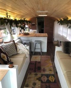 Have a peek at this web-site discussing Skoolie Kitchen Bus Living, Tiny House Living, Bus Remodel, Trailer Remodel, School Bus Tiny House, Converted School Bus, Van Home, Campervan Interior, Rv Interior
