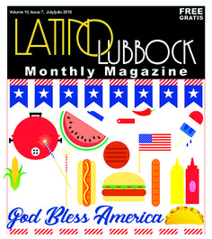 "Volume 10, Issue 7 July 2016  ""God Bless America"""