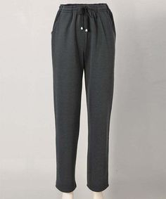 6e1715efdc Damart Leisure Trousers Black UK Size Casual trousers with the emphasis on  comfort in our warm, brushed back fabric. In a straight legged style with  side ...