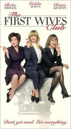 The First Wives Club...one of the greatest movies of all time! // Club der Teufelinnen, ich könnte diesen Film immer wieder schauen. Einer meiner Lieblingsfilme.