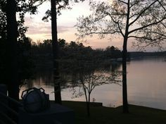 I could sit here every evening....  Smith Lake by Story Laine