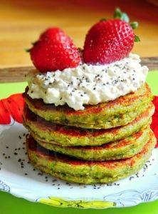 Zelené sladké mini lievančeky Acai Berry, Truffle, Flan, Avocado Toast, Smoothie, Pancakes, Paleo, Breakfast, Pudding