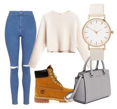 """""""Untitled #7"""" by smithe29 on Polyvore featuring Topshop, Timberland and MICHAEL Michael Kors"""