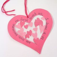 christian valentine crafts for kids