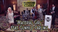 """NEW VIDEO! """"Material Girl"""" in the 20's, how 'bout that? Feat amazing Gunhild Carling, check it out: http://postmodernjukebox.com/post/material-girl-1920s-madonna-cover-ft-multi-instrumental-virtuoso-gunhild-carling/"""